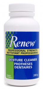 Renew Denture Cleaner, Winnipeg Denturist, Denture Clinic Winnipeg